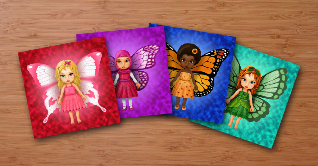 Butterfly Fairies – Art prints and t-shirts!